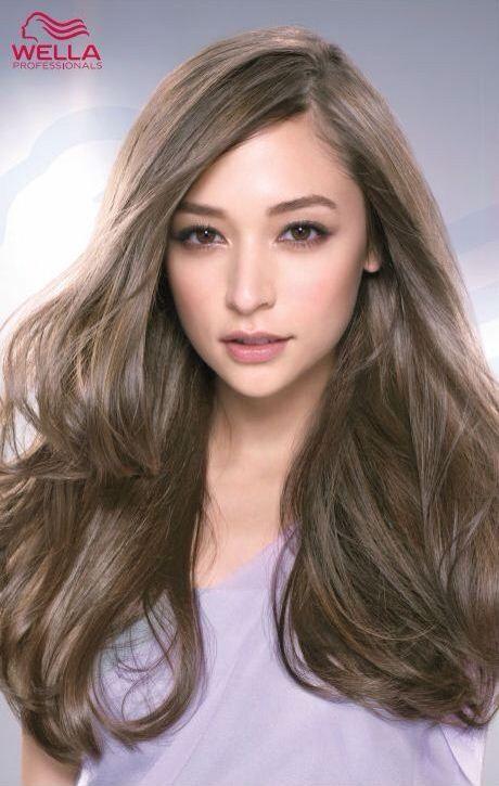Asian brown hair dye