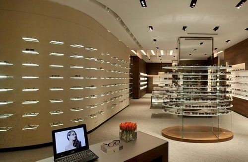 Optx Optical Store Design Rhode Island, Optical Store Design, Retail Design, Interior Design, Unique Store Design, Luxury Store Design, Elegant Store Design