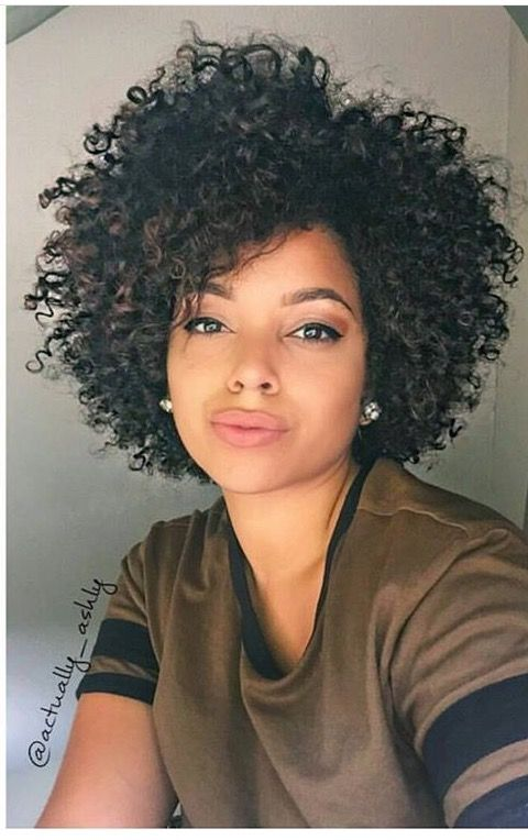 How To Style Short Natural Hair Follow Me For More ✨ Idontkeren  Natural Hairstyles  Pinterest