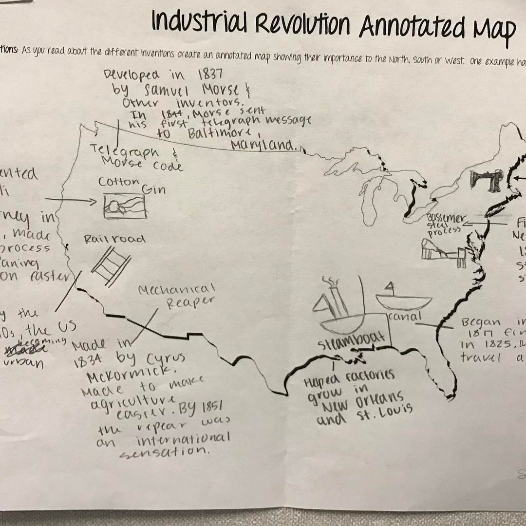The First Industrial Revolution Map Bing Images Industrial
