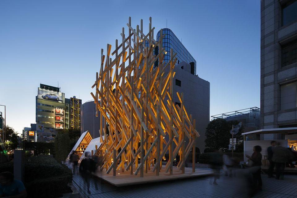 The Wisdom Tea House By Kengo Kuma Associates Tea House Kenzo Tange Tadao Ando