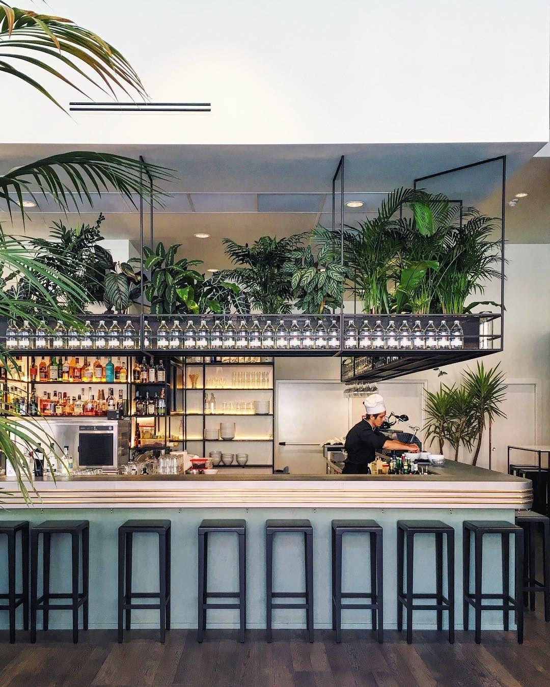 Billeder Og Videoer Pa Instagram Som Er Taget Her The Botanical Club Cafe Exterior Bar Interior Design Cafe Design