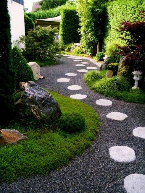 Jardines de estilo asiático por neuesgartendesign