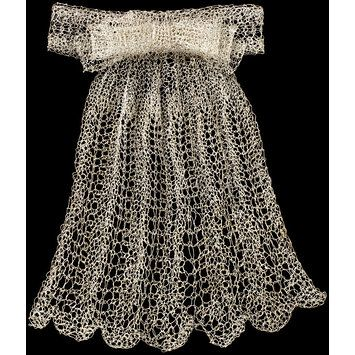 'Lace Ascot' | Fisch, Arline M. (Professor) | V&A Search the Collections
