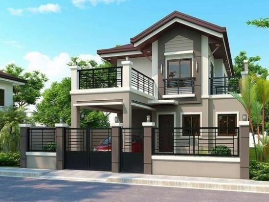 33 Desain Inspiratif Rumah Dengan Model Balkon Terbuka 1000 Inspirasi Desain Arsitektur Teknologi Kon Desain Rumah 2 Lantai Desain Rumah Bungalow Arsitektur