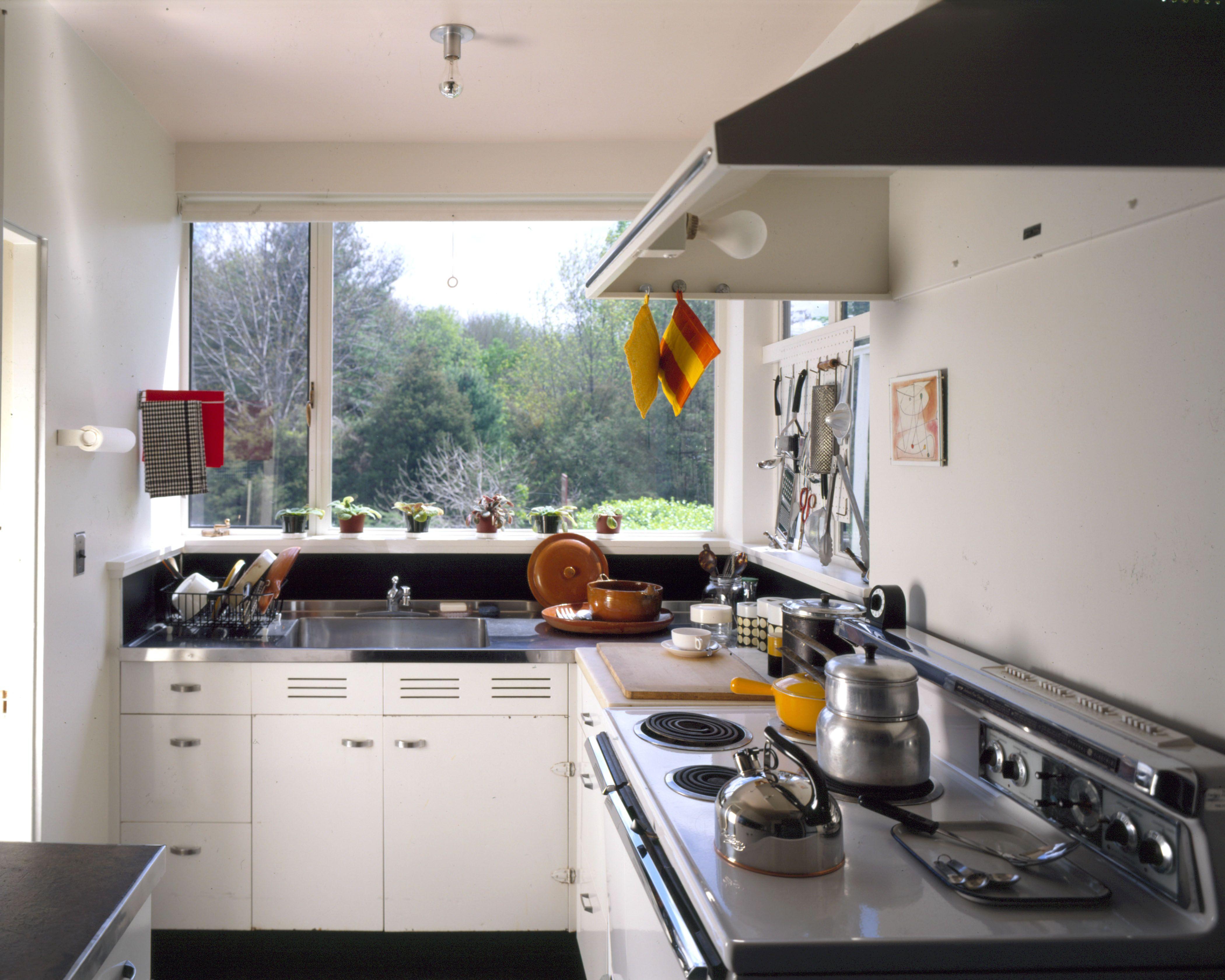 The kitchen The Gropius House 1937 Lincoln Massachusetts
