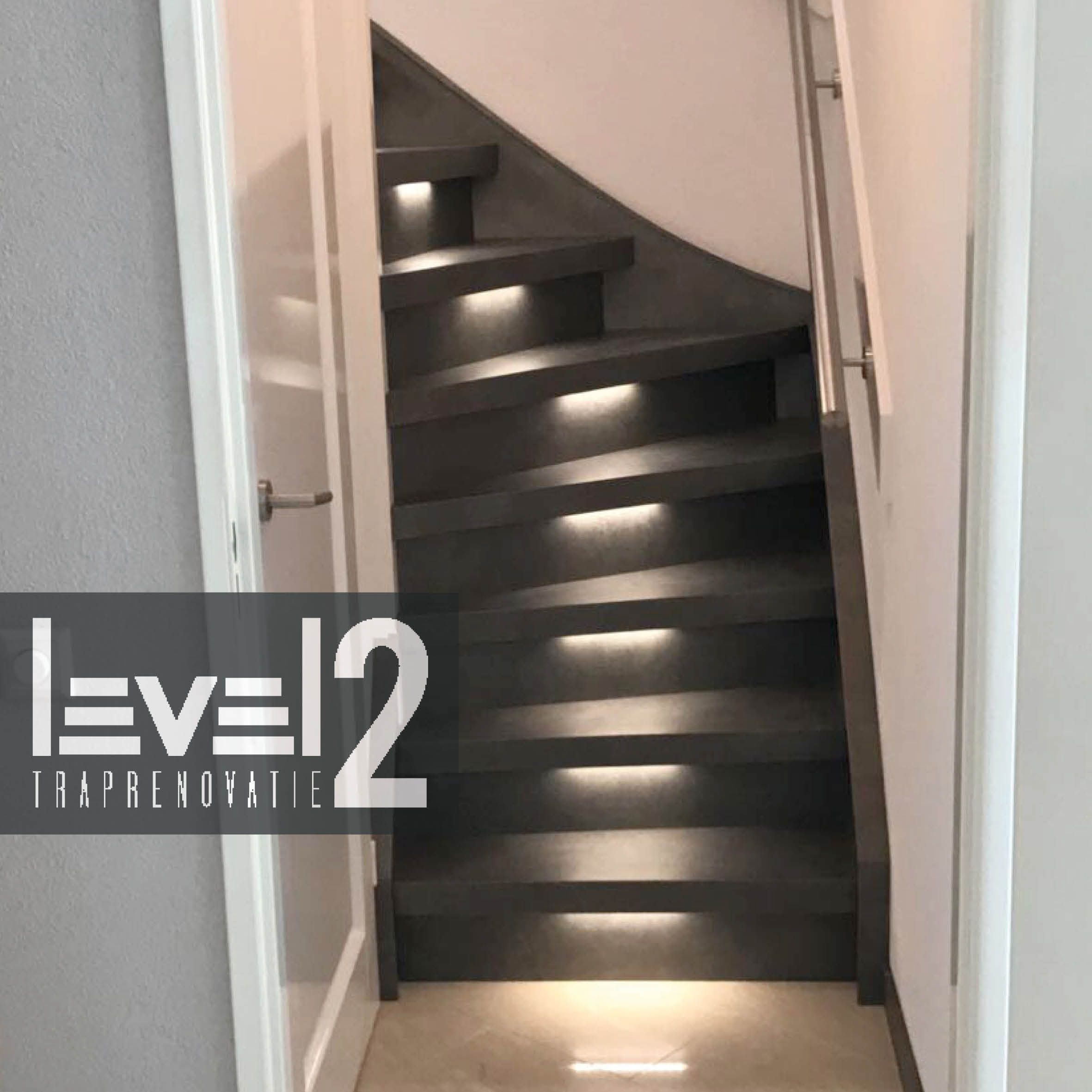 Trap Led Verlichting Ikea #level2traprenovatie #trapbekleden #trapbekleding #
