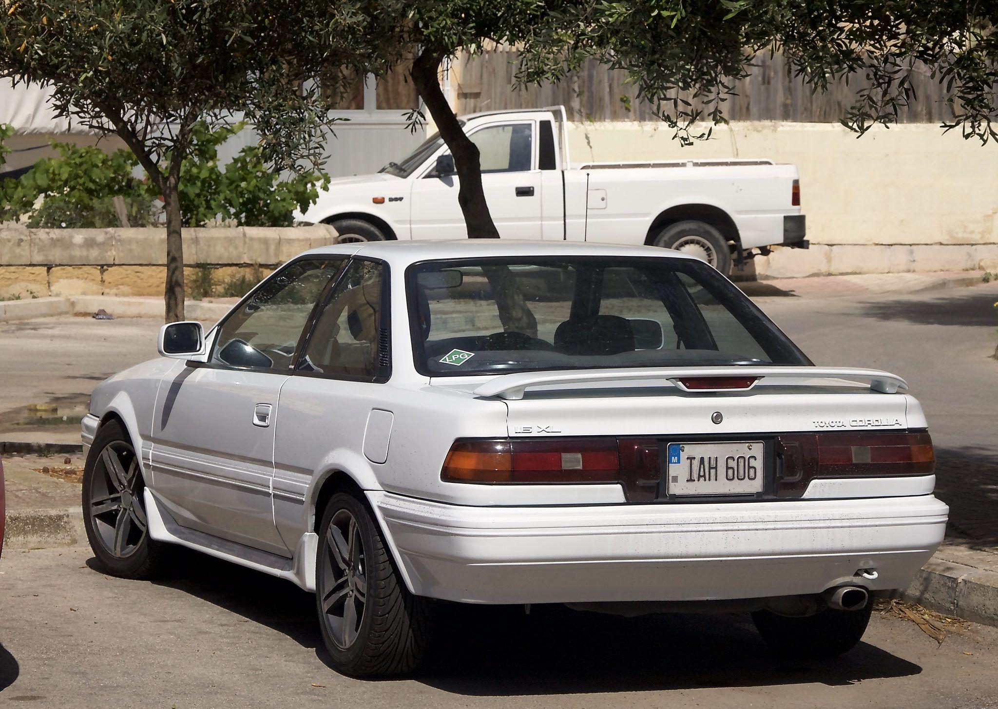 Toyota Corolla Sr5 Coupé Ae92