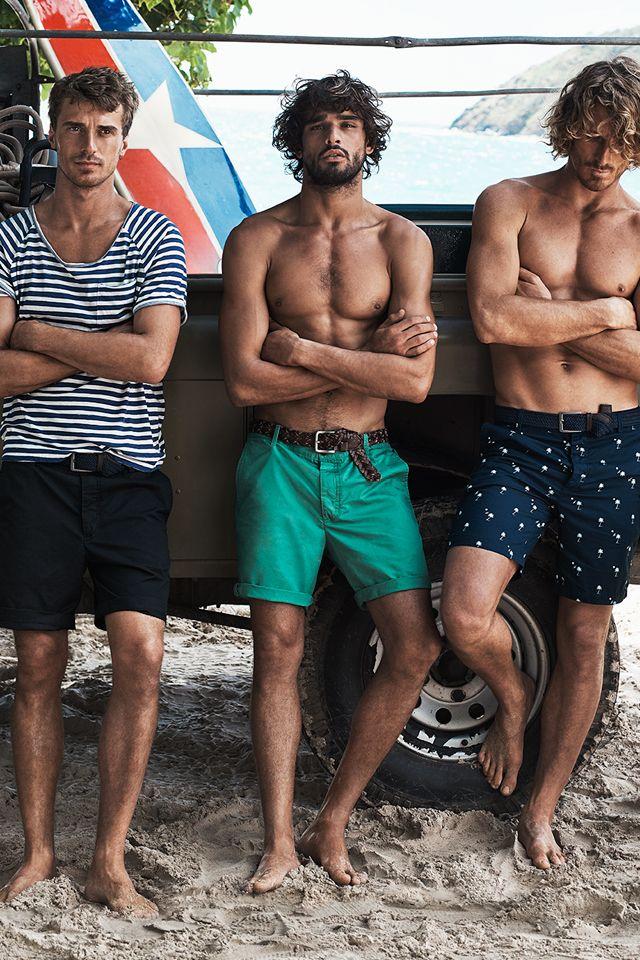 3386a000a3 Step into the spotlight in our new range of swimwear. Summer starts now! | H&M  Summer | beach fashion en 2019 | Men beach, Mens fashion:__cat__ y Fashion