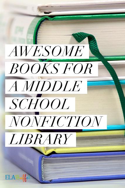Middle School Nonfiction Books 7th Grade Common Core Pinterest