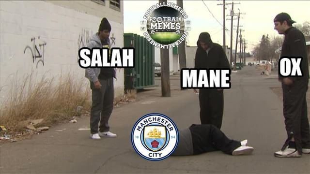 Liverpool Vs Manchester City Summed Up Liverpool Memes Manchester City Funny Football Pictures