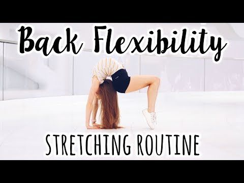 intermediate back stretching routine  youtube  stretch