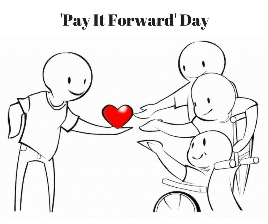 One small act of kindness produces many more. Start your own domino effect. #PayItForwardDay