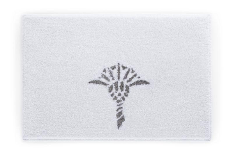 Badezimmerteppich Grau ~ Gehäkelter lÄufer badematte teppich grau nähen stricken etc
