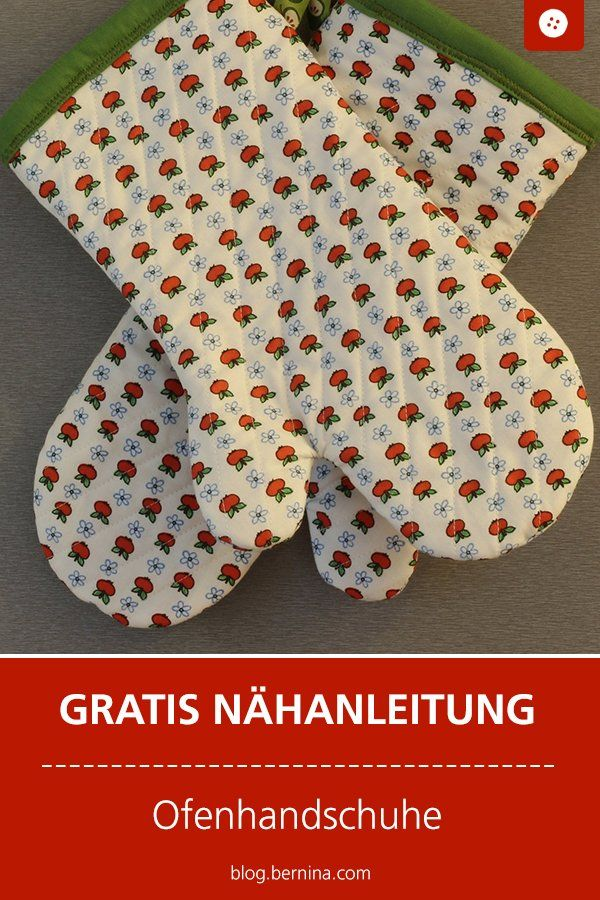 Photo of Nähanleitung: Ofenhandschuhe (Last-Minute-Geschenk) » BERNINA Blog
