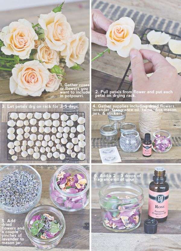 How To Make Potpourri Favors For Weddings And Parties Diy
