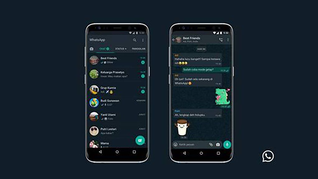 الوضع المظلم يصل إلى نسخة الواتساب على الويب الوضع المظلم يصل إلى نسخة الواتساب على الويب Samsung Galaxy Phone Dark Galaxy Phone