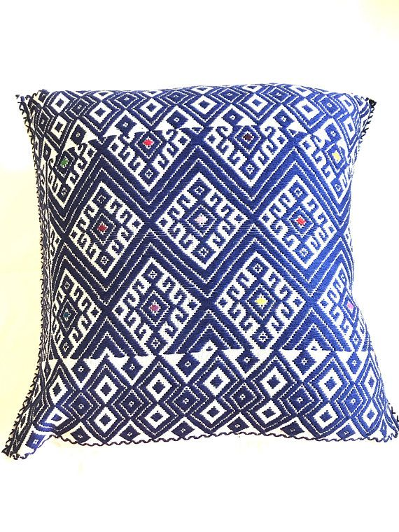 PAIR!!! of Mexican Handmade Pillow Case