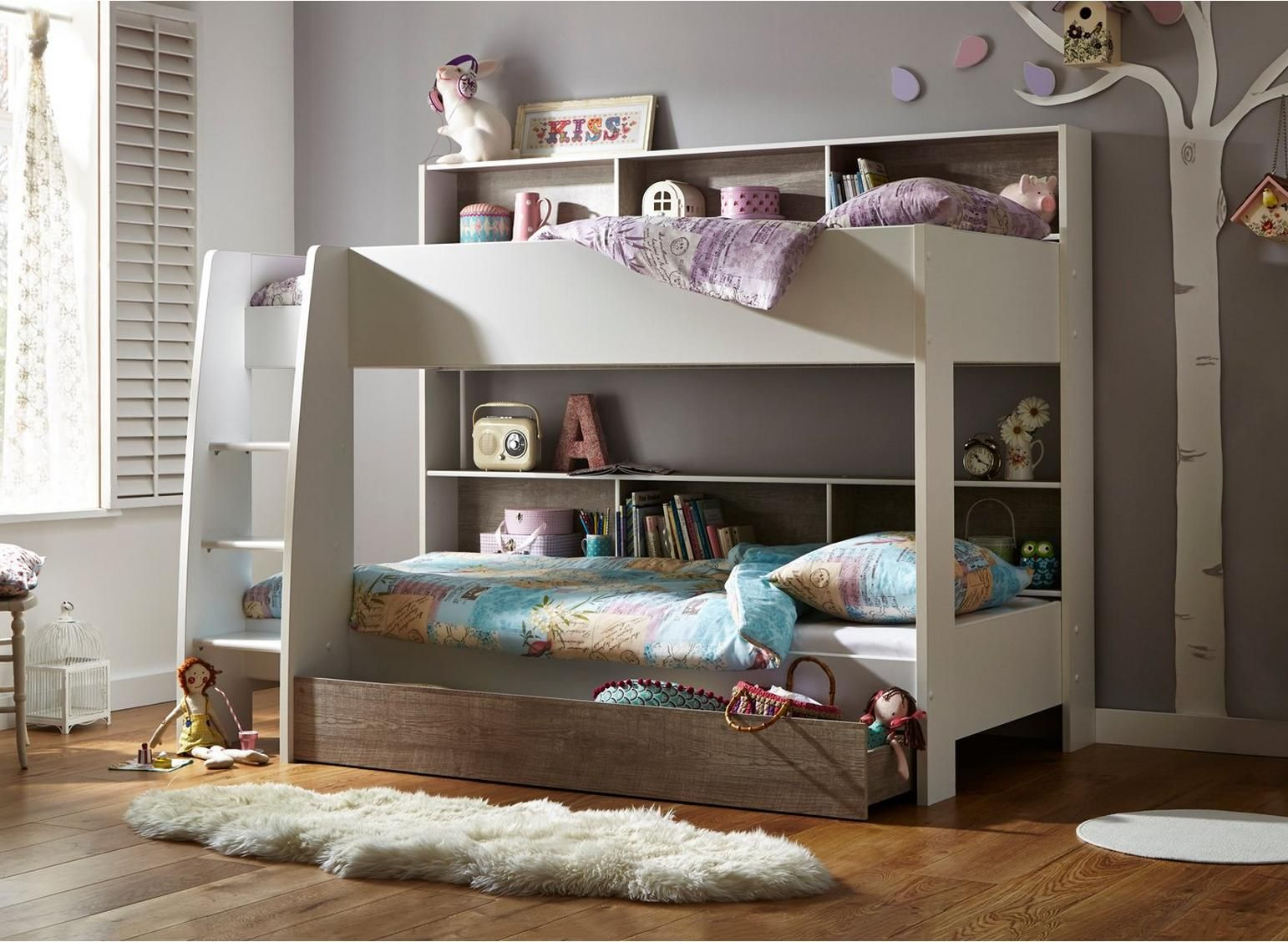 Erin Bunk Bed (With images) Cool bunk beds, Girls bunk