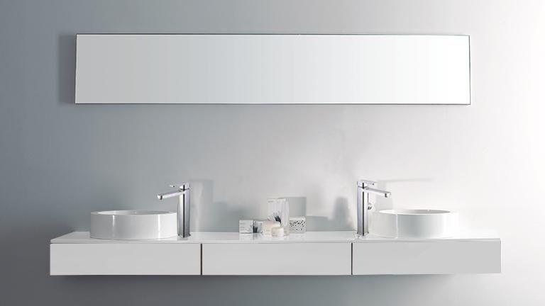 Meuble de salle de bain double vasques design Veneto la celle