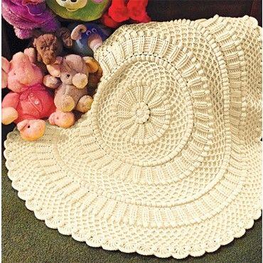 Lille Matelasse Circular Blanket Kit | Mary Maxim Item No  98240999