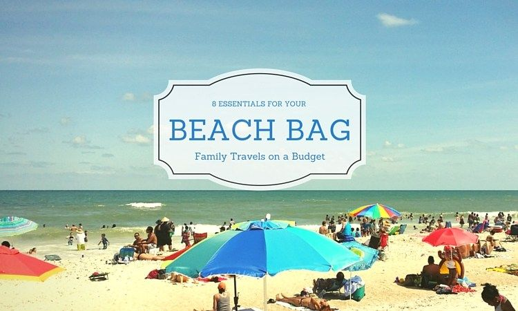Beach Bag essentials! Pack these and you'll be ready for sun and fun all day long.