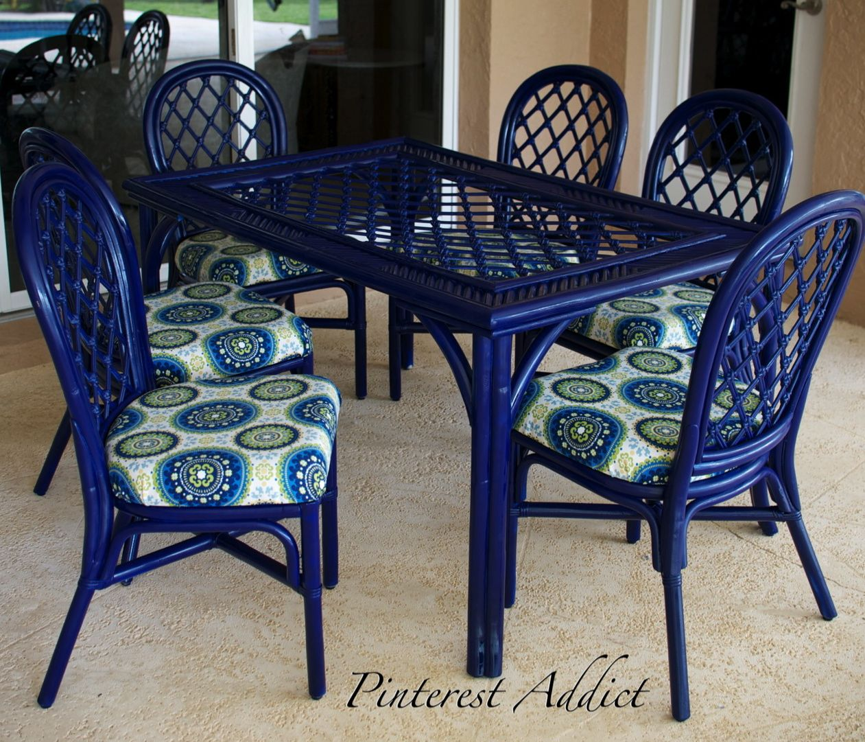 painting sling back chairs google search - Garden Furniture Colour Ideas