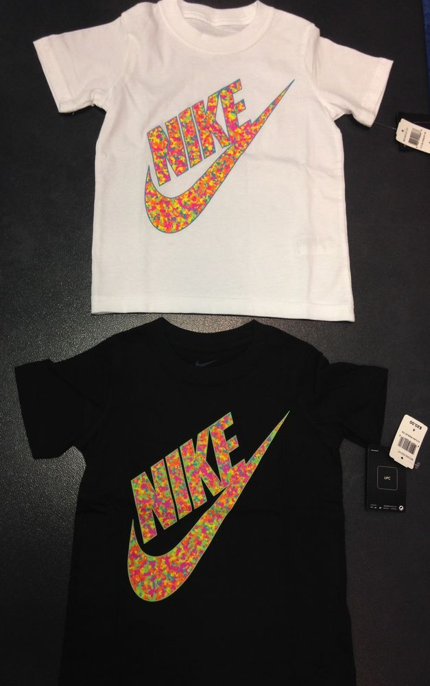 7438bbdea5c NIKE Cereal Fruity Pebbles Foamposites GRAPHIC T-SHIRT PRESCHOOL Sizes 4-7   Nike  Everyday