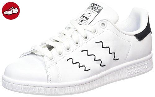 adidas Damen Stan Smith Sneakers, Weiß (Ftwr White/Ftwr White/Core Black