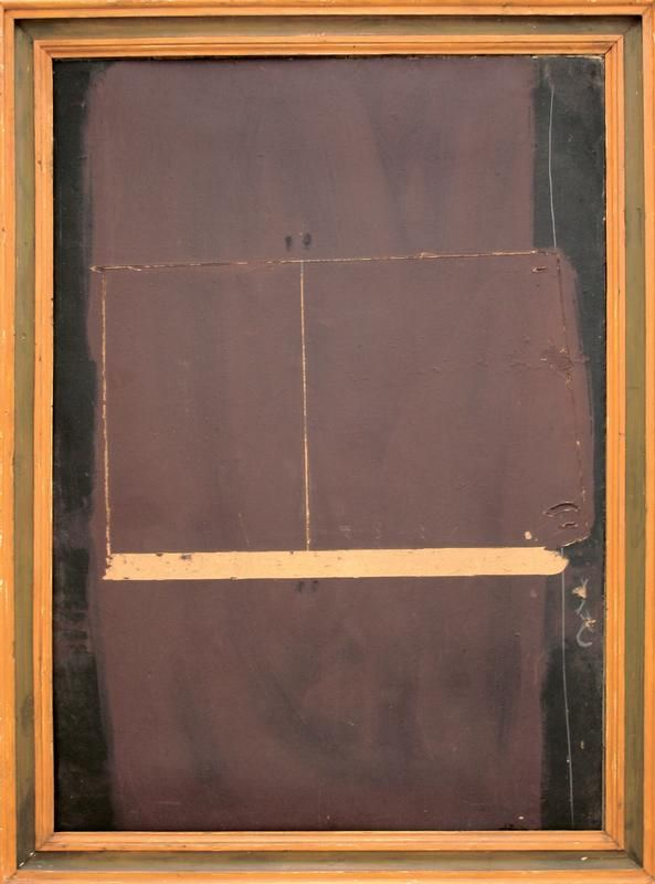 Antoni Tàpies | oil and mixed technique on board on canvas, 1959
