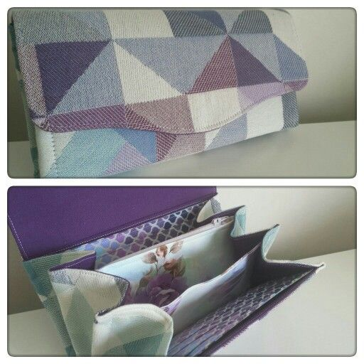 c6e7dcccde5 Necessary Clutch Wallet by EmBee Designs (made from Ankalia Mako ...