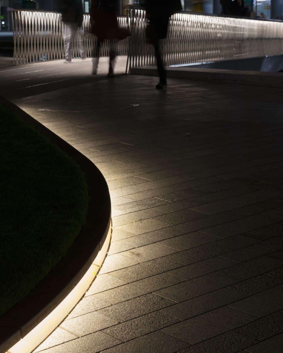 Merchant Square lighting design – StudioFractal – Architectural lighting design specialists