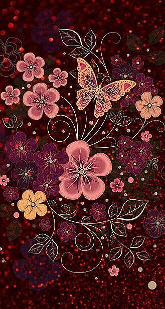 A Picture From Kefir Https Kefirapp Com C 1475645 Flower Wallpaper Butterfly Wallpaper Cellphone Wallpaper Butterfly wallpaper for mobile phone
