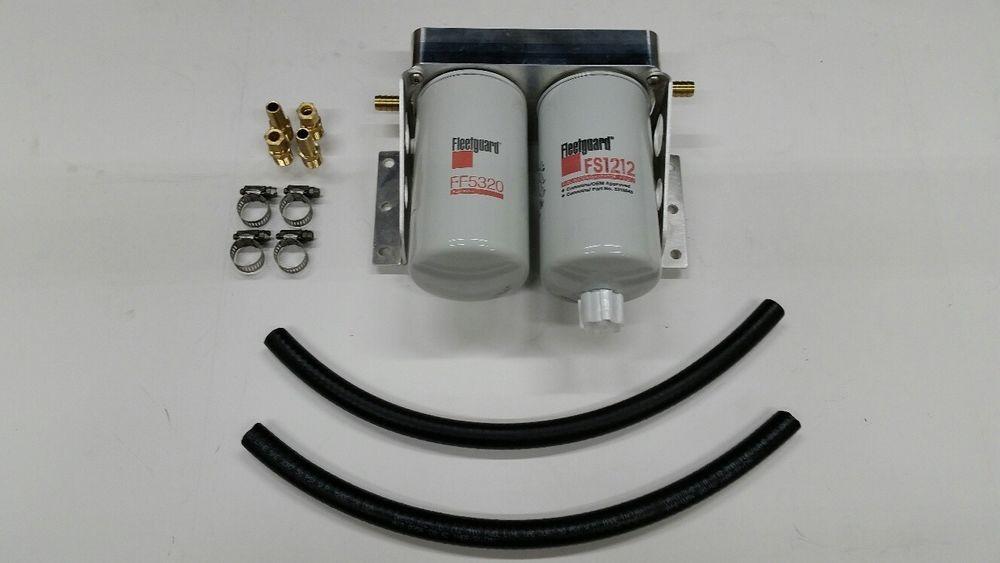 fuel filter kit dual filter housing air-dog fass #TRP | TREX