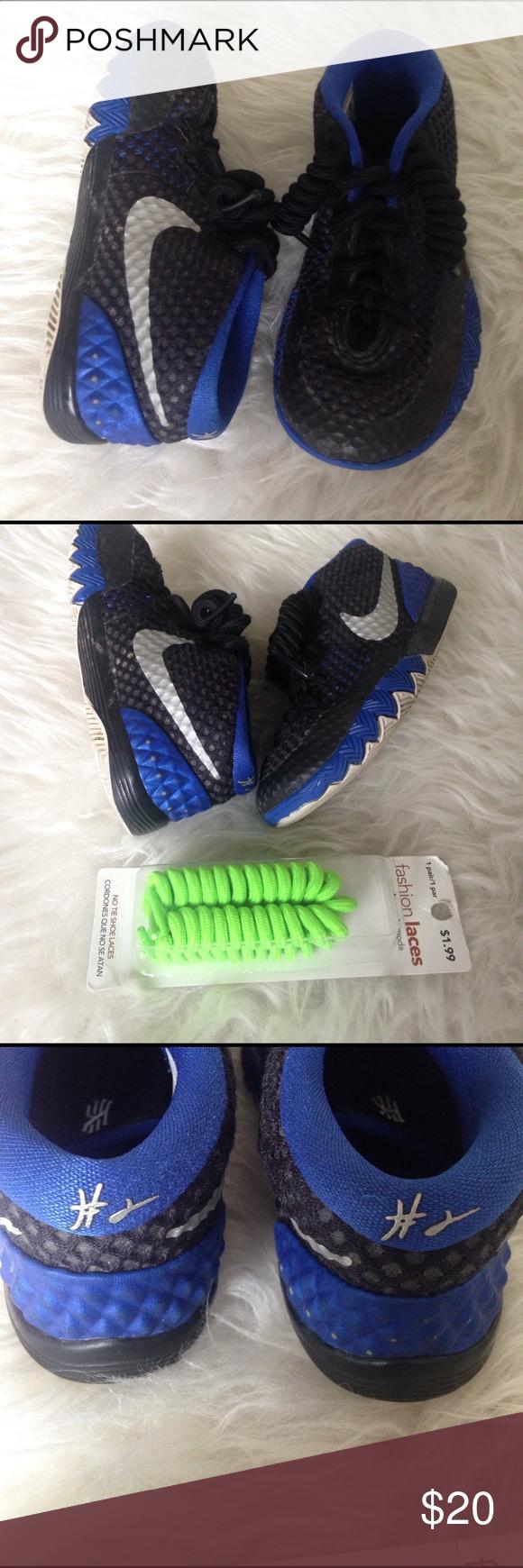 Toddler Boys basketball Kyrie Irving Nike sneakers Nike Kyrie Irving toddler  boys shoes. Size 9c