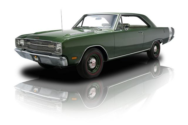 1969 Dark Green Dodge Dart Gts 440 Magnum Muscle Cars For Sale