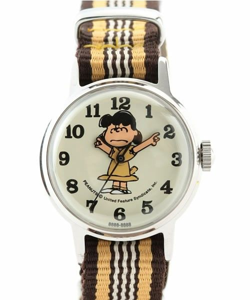 "JOURNAL STANDARD WOMEN'S(ジャーナルスタンダードウィメンズ)のJOURNAL STANDARD×SNOOPY WATCH ""LUCY ANGRY""_(腕時計)