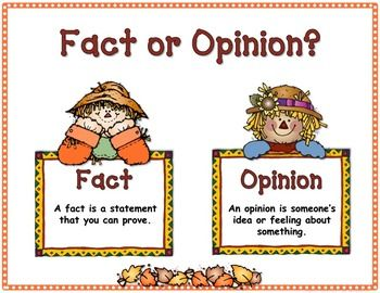8 Fact And Opinion Ideas Fact And Opinion Reading Facts Teaching Reading