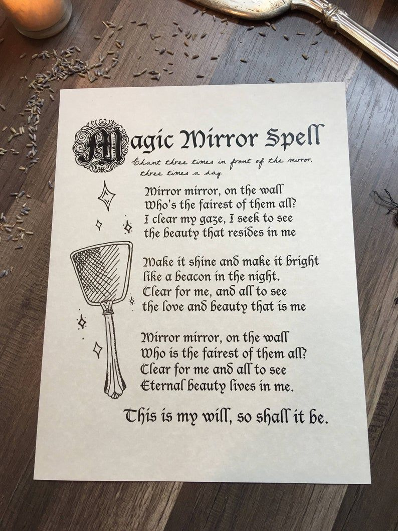 Book of Shadows Pages - Digital Download, Grimoire & Spell Pages