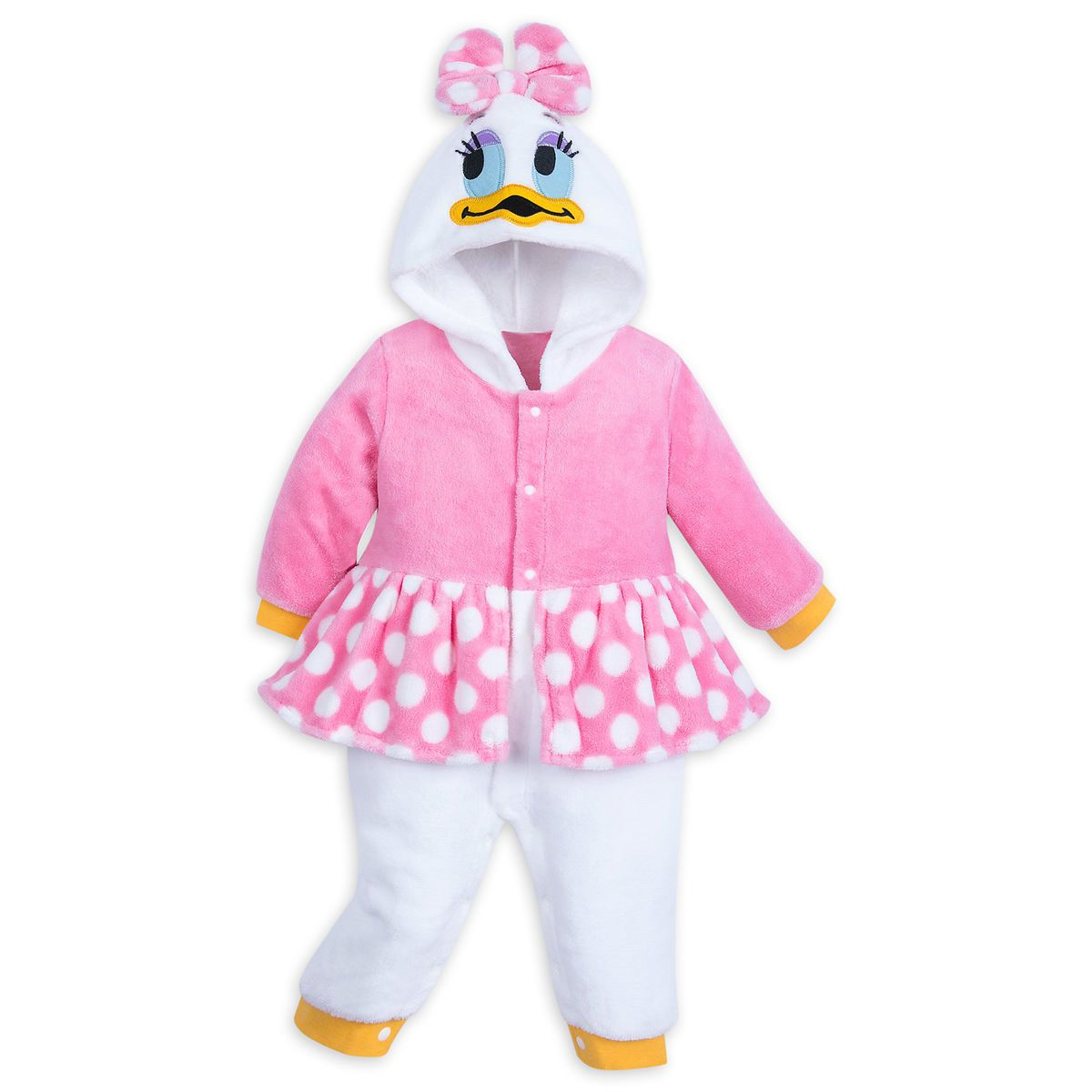 Daisy Duck Fleece Costume Romper For Baby Disney Clothes Kids