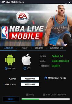 download nba live mobile mod unlimited money