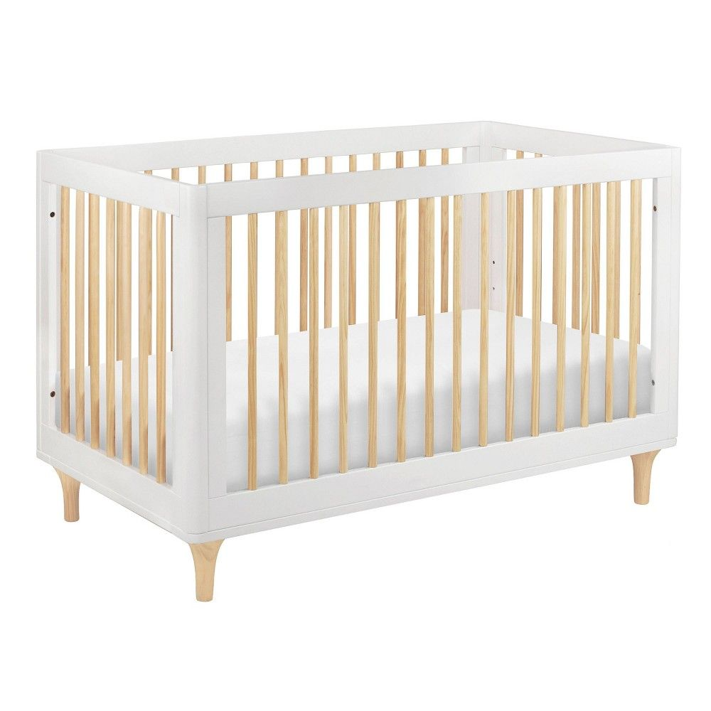 Babyletto Lolly 3 In 1 Convertible Crib With Toddler Rail White