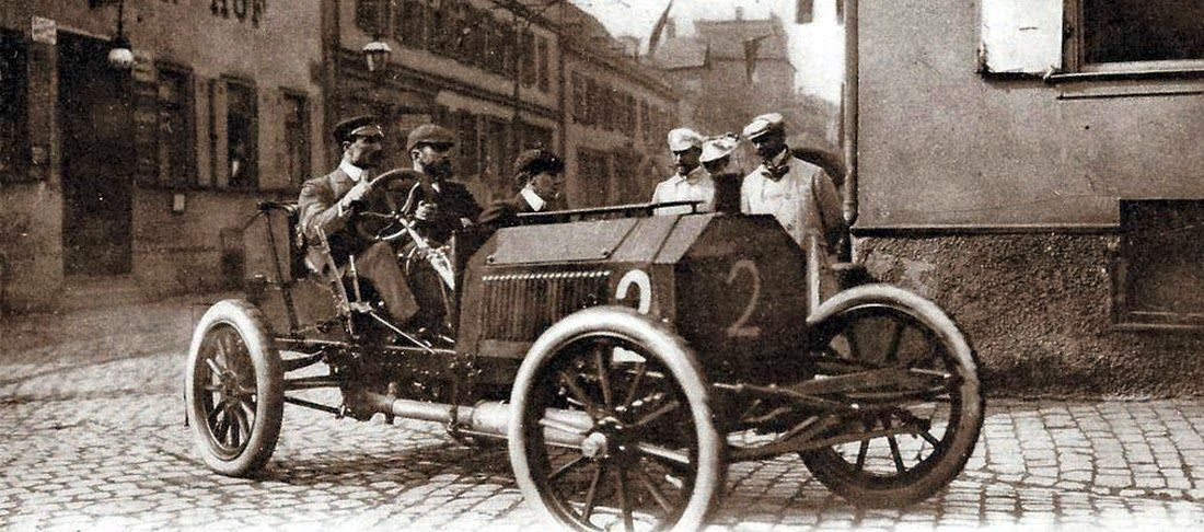 1900 racer | Vehicle History started in Black and White | Pinterest ...