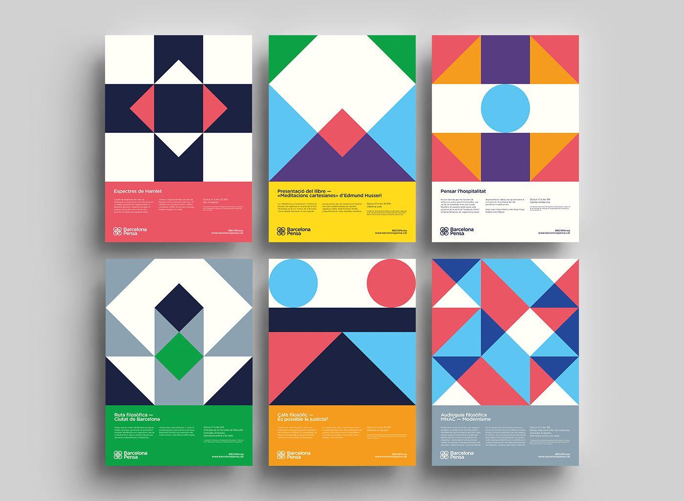 Pin Von Aaron Stump Auf Branding Design Geometrisches Poster Design Graphic Design