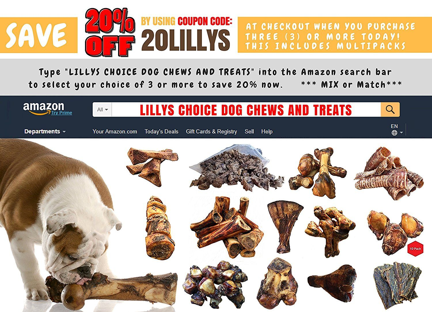 Lilly S Choice Dog Bones For Aggressive Chewers Made In The Usa