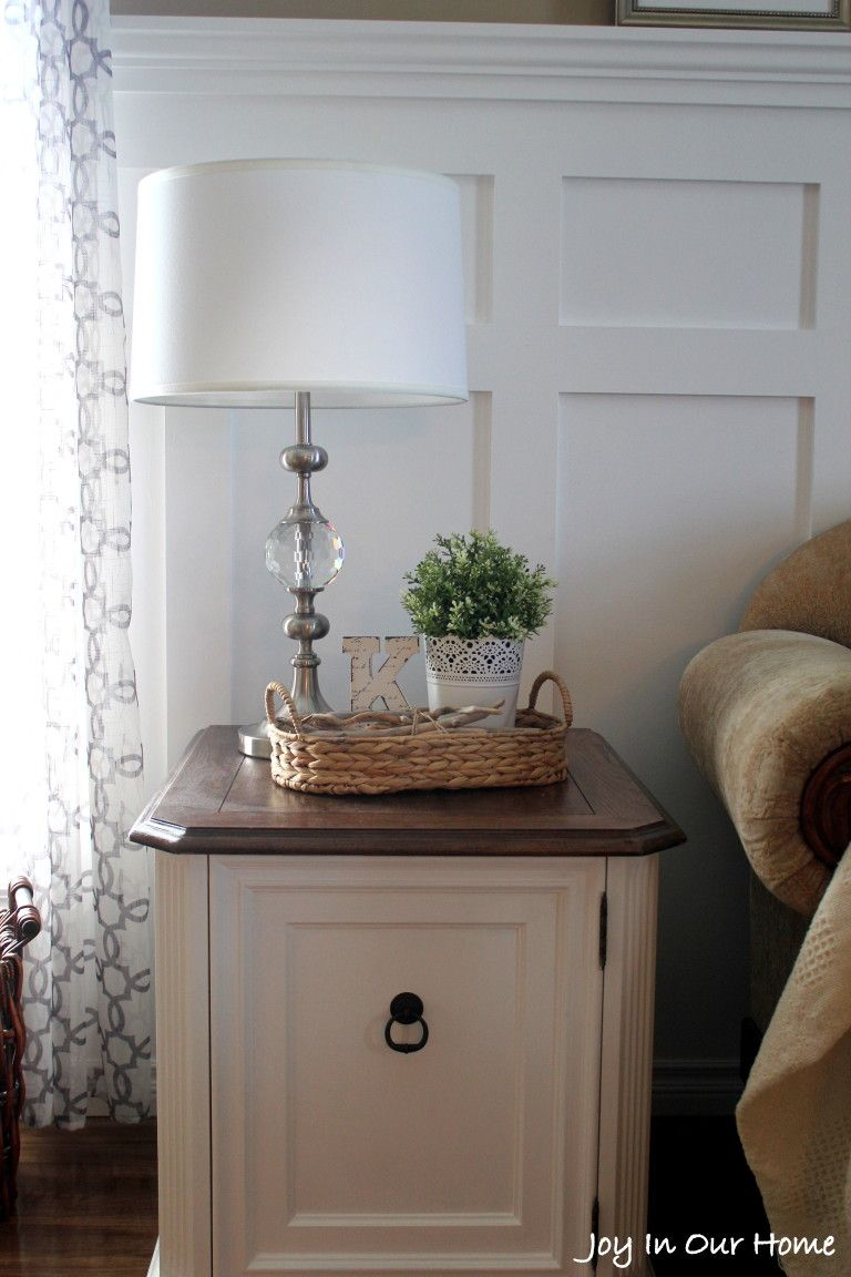 Repurposed Living Room End Table {Thrifted Item Makeover) | Myrtle ...