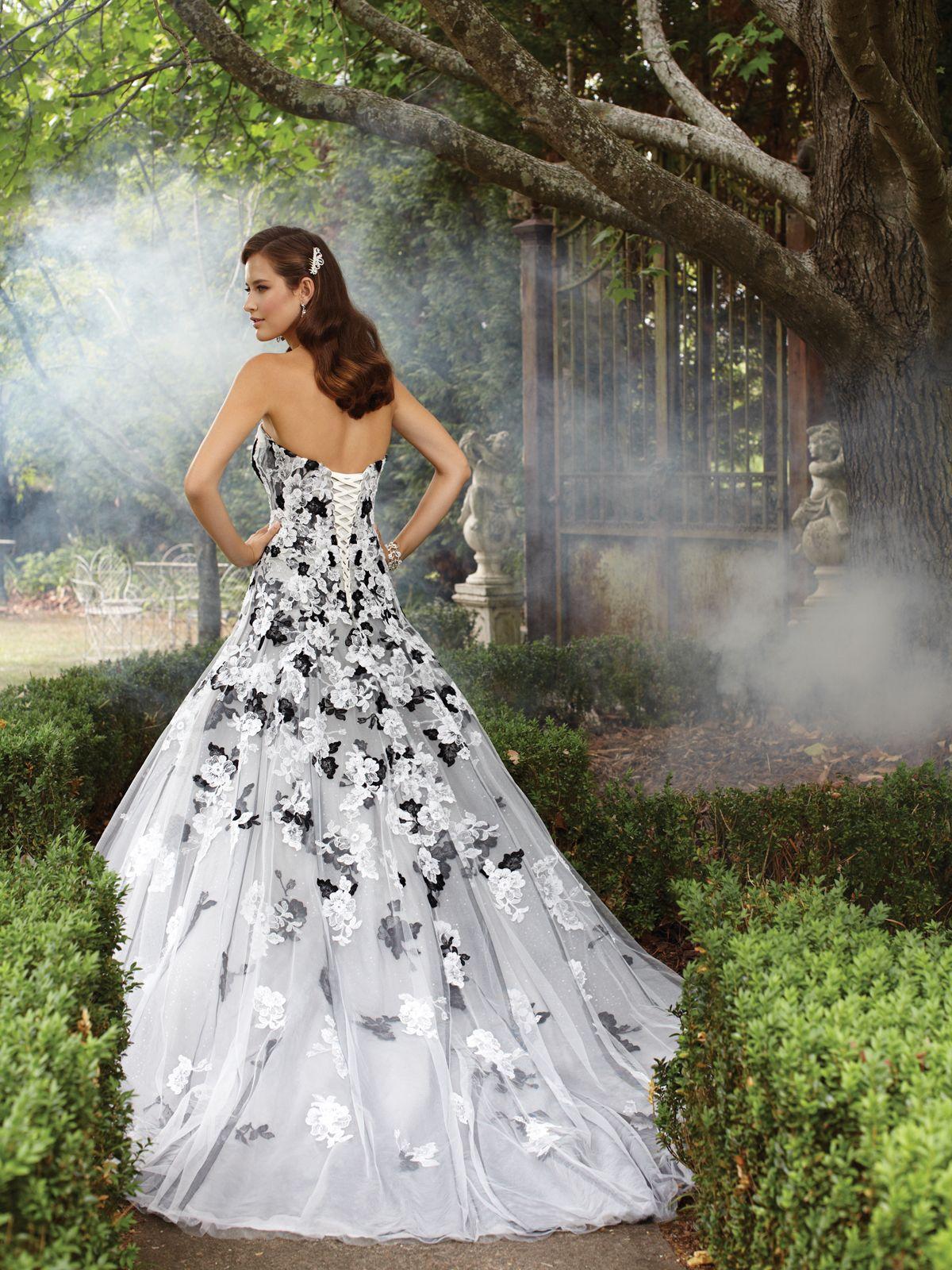 Sophia tolli style no y21371 precious lace for Sophia tulle wedding dress
