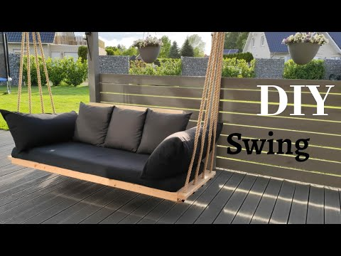 Hollywoodschaukel selber bauen/Gartenmöbel/ Hängeschaukel/ Swing Chair/ Bed Swing/Садовые качели