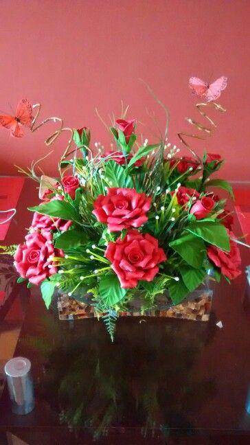 Arranjo Centro De Mesa Com Imagens Arranjos De Flores Flores