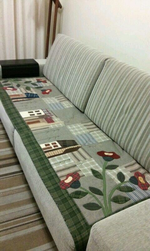 Protetor Sofa Patchwork Pinterest Patchwork Patches And Bed